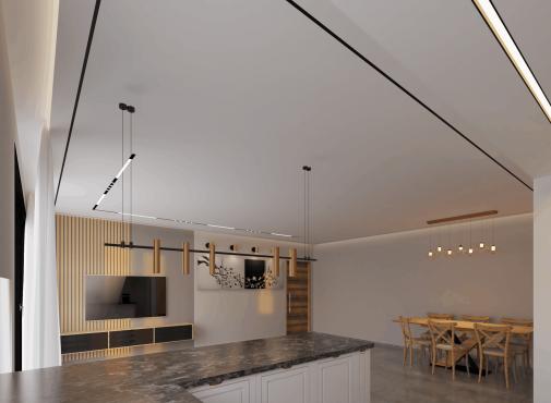 עיצוב תקרה מודרני